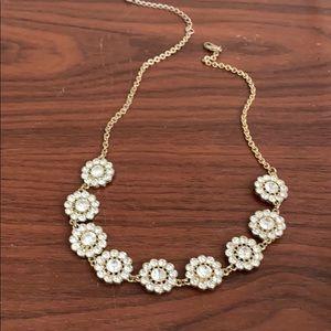 Anthropologie flower necklace